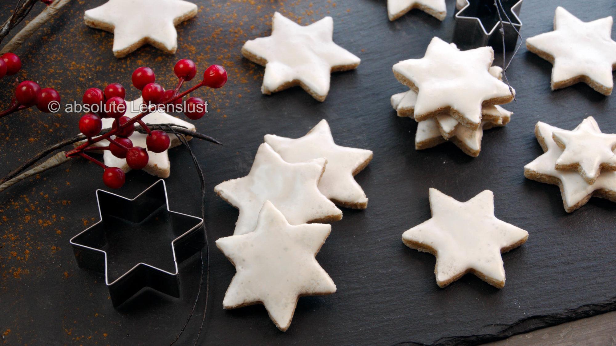 zimtsterne, backen, rezept, selber machen, einfach, rezepte, plätzchen, plätzchen backen, mit eiweiß, eiweiß, verwerten, weihnachtsplätzchen, keto plätzchen