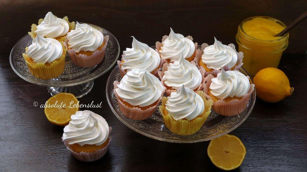 zitronen joghurt cucpakes, cupcakes rezept, cupcakes rezepte, einfache cupcakes, dekorieren, backen, für anfänger